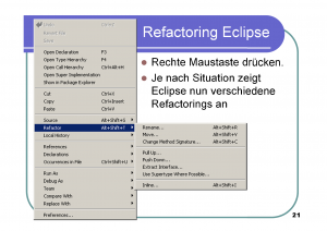 Refactoring21